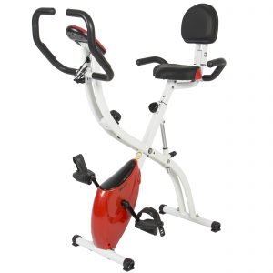 Best Choice Products Folding Upright for Cardio w Resistance Knob