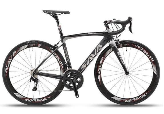 Carbon Road Bike, SAVA HERD6.0 T800 Carbon Fiber 700C