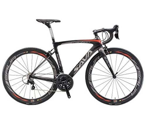 Carbon Road Bike, SAVA HERD6.0 T800 Carbon Fiber 700C