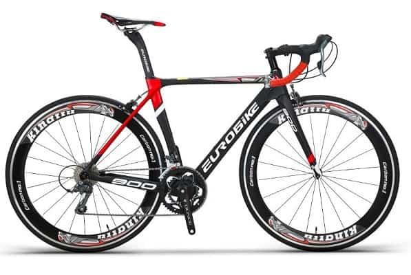 Eurobike EUR900 56CM Carbon Frame Road Bike 18 Speed 700C