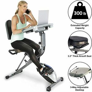 Exerpeutic ExerWorK 1000 Fully Adjustable Desk with Pulse