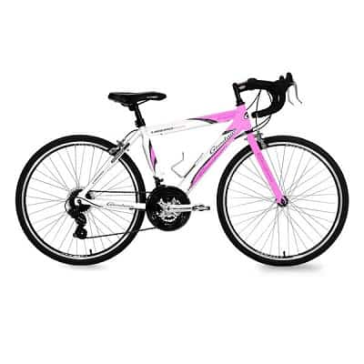 Giordano Libero 1.6 White-Pink Women Road Bike-700c