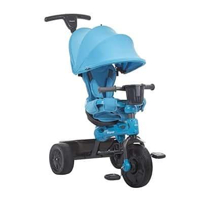 Joovy Tricycoo 4.1 Kid's Tricycle, Push Tricycle, Toddler Trike