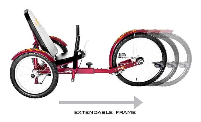 Mobo Triton Pro Adult Tricycle