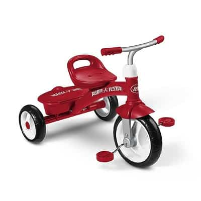 Radio Flyer Rider Trike, Outdoor Toddler Tricycle, Ages 2 ½ - 5
