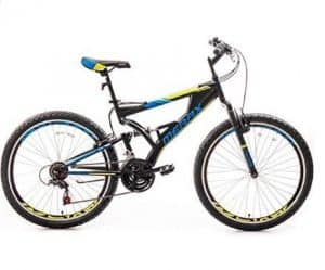 "Merax 26"" with Suspension Fork 24-Speed"