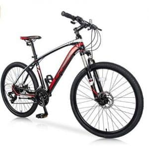 """Merax 26"""" with Suspension Fork 24-Speed"""
