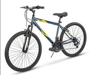 Huffy Hardtail Summit Ridge 24-26 inch 21-Speed, Lightweight, Dark Blue