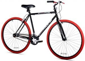 Kent 700C Men's, Thruster Fixie Black Red