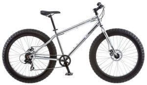 Mongoose Malus Fat Tire with 26-Inch Wheels & Steel Frame