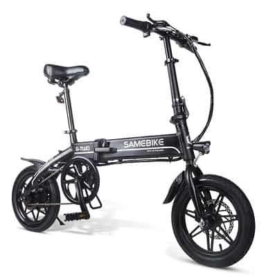 SAMEBIKE 14 inch Folding Electric Bike