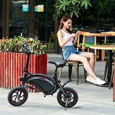 Shaofu Folding Electric Bike– 350W 36V Waterproof