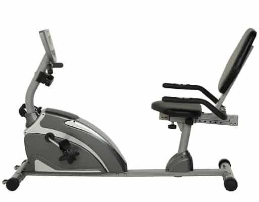 EXERPEUTIC 900XL Recumbent Exercise Bike with Pulse
