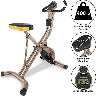 Exerpeutic Gold Heavy Duty Foldable