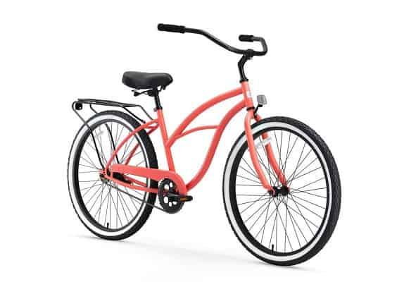 Sixthreezero Around The Women's 7-Speed Beach Cruiser Bicycle