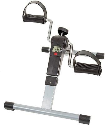 Wakeman Portable Folding Fitness Pedal Stationary