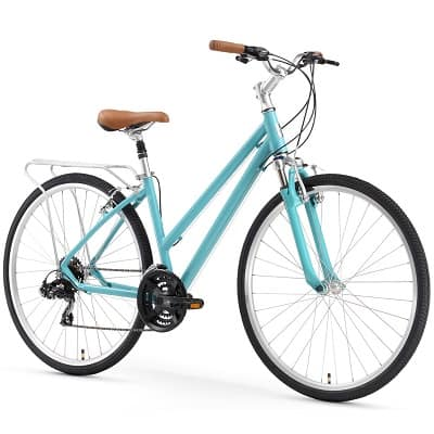 sixthreezero Pave N' Trail Women's Hybrid Road Bicycle w Rear Rack