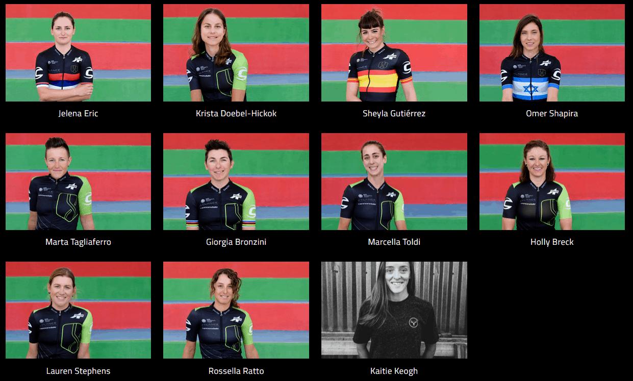 Cylance Pro Cycling members
