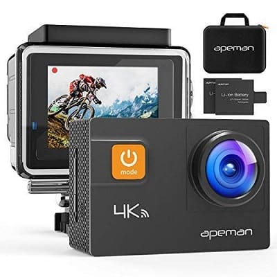 APEMAN Upgrade A87 Action Camera Touch Screen