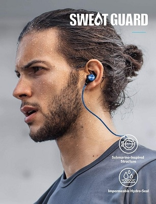 Bluetooth Headphones, Soundcore Spirit Sports Earbuds by Anker