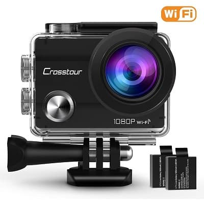 Crosstour Action Camera 1080P Full HD