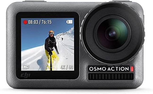 DJI Osmo Action – 4K Action Cam 12MP Digital Camera