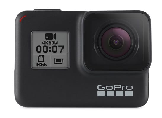 GoPro Hero 7 Black Action Camera + Extra USA Battery + Sandisk 32GB MicroSDHC U3