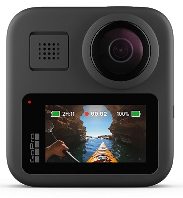 GoPro MAX — Waterproof 360 + Traditional Camera with Touch Screen