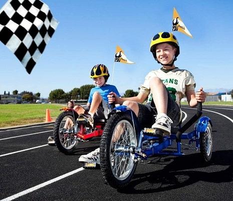 Mobo Triton Pedal Go Kart Trike. Kids 3-Wheel Bike