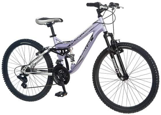 Mongoose Maxim Girls Mountain Bike 24-Inch Wheels