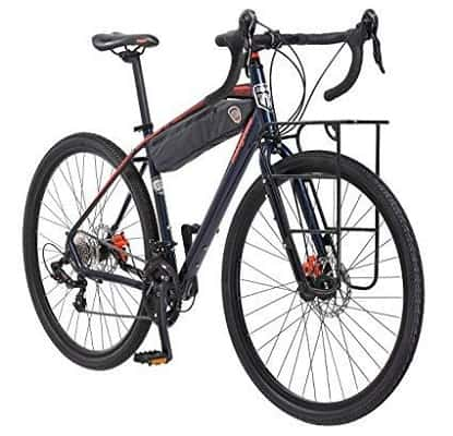 Mongoose Men's Elroy Adventure Bike 700C Wheel