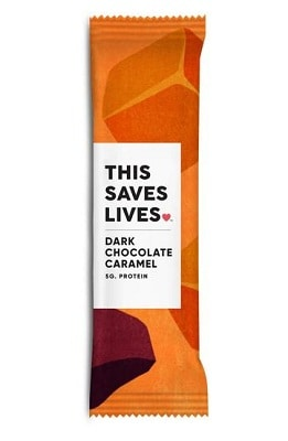 THIS SAVES LIVES Chewy Granola Bars, Variety Pack, 8 Pack
