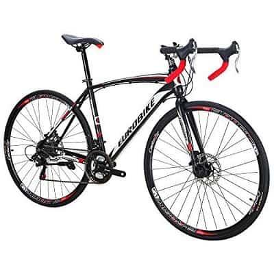 Bikes EURXC550 21 Speed Road Bike 700C Wheels Dual Disc Brake