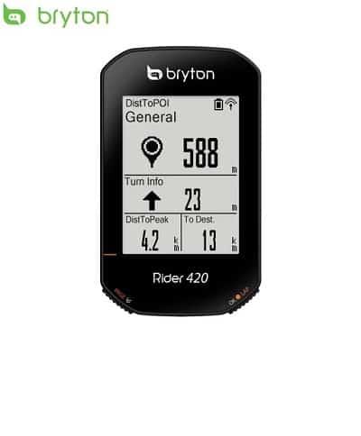 Bryton Rider 420 GPS Cycle Computer