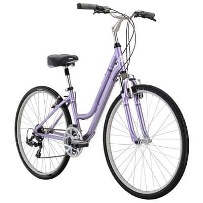 Diamondback Bicycles 2016 Women's Vital 2 Complete Hybrid Bike