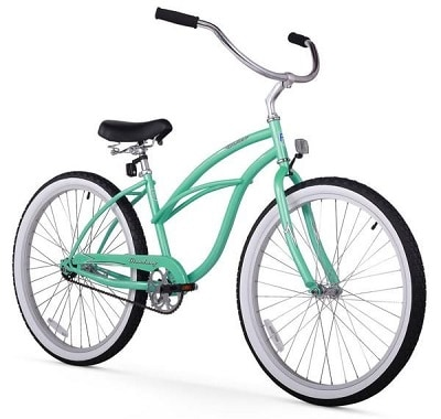 Firmstrong Urban Lady Single Speed Beach Cruiser Bike