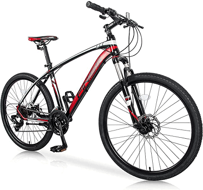 Merax 26″ Mountain Bicycle with Suspension Fork