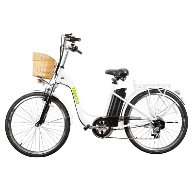 NAKTO 26″ 250W Cargo Electric Bicycle Sporting Shimano 6 Speed