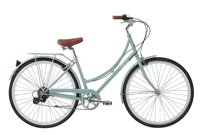 Pure City Classic Step Thru 8-Speed City Bicycle