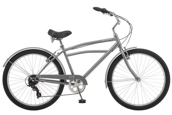 Schwinn Huron 1-speed Adult Beach Cruiser Bike