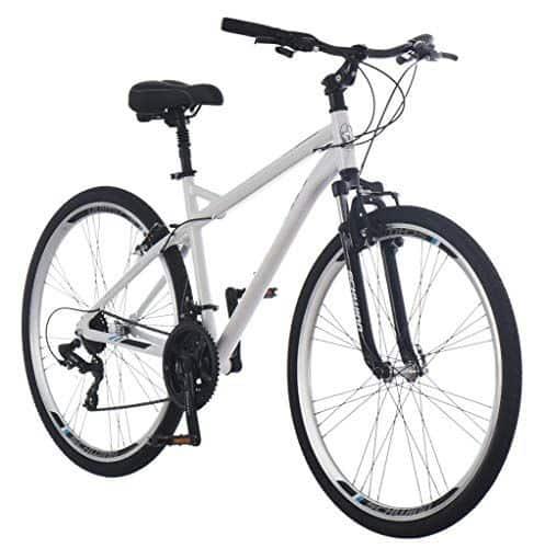 Schwinn Network 1.0 Womens Hybrid Bike, 700c Wheels, 21-Speed, 16-Inch Frame