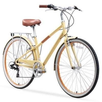 Sixthreezero Reach Your Destination Women's Hybrid Bike with Rear Rack