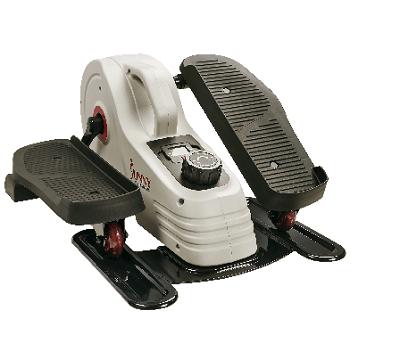 Sunny Health & Fitness Magnetic Underdesk -Standing Portable Elliptical Machine