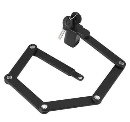 Amazon Basics Folding Bike Lock