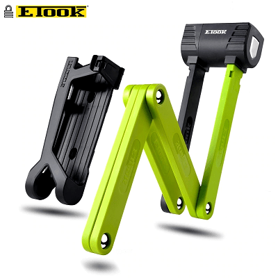 Bike Lock Made Steel Alloy Anti-Sawing Anti-Drilling with Mount Bracket