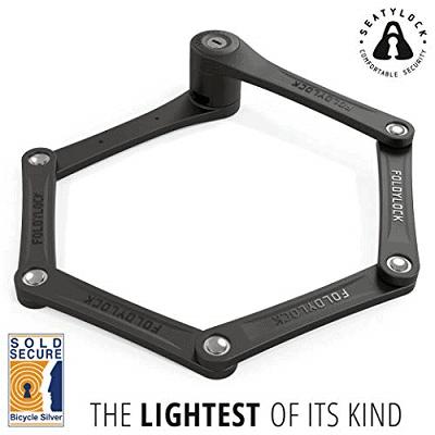 FoldyLock Compact Folding Bike Lock - Award Winning Patented Lightweight High Security