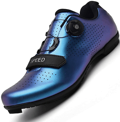 Men Road Bike Cycling Shoes Premium Microtex