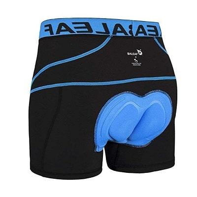 BALEAF Men's Cycling Underwear Shorts 3D Padded
