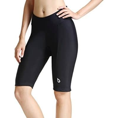 BALEAF Women's Bike Shorts 3D Gel Padded Wide Waistband UPF 50+