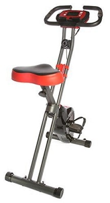 Ivation Exercise Upright Magnetic Cycling Bike Fitness Machine Foldable